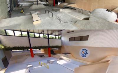 Pierwszy betonowy skatepark w Hali